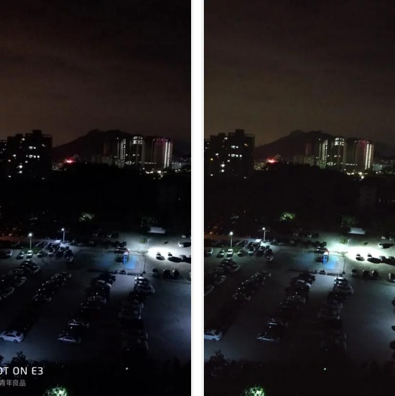 Xiaomi Redmi Note 5 versión China vs Meizu E3 Foto Nocturna