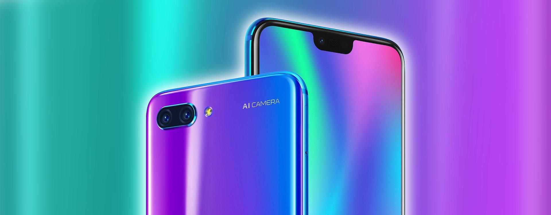 Huawei Honor 10 - Cámaras
