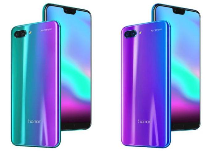 Huawei Honor 10 - Diseño