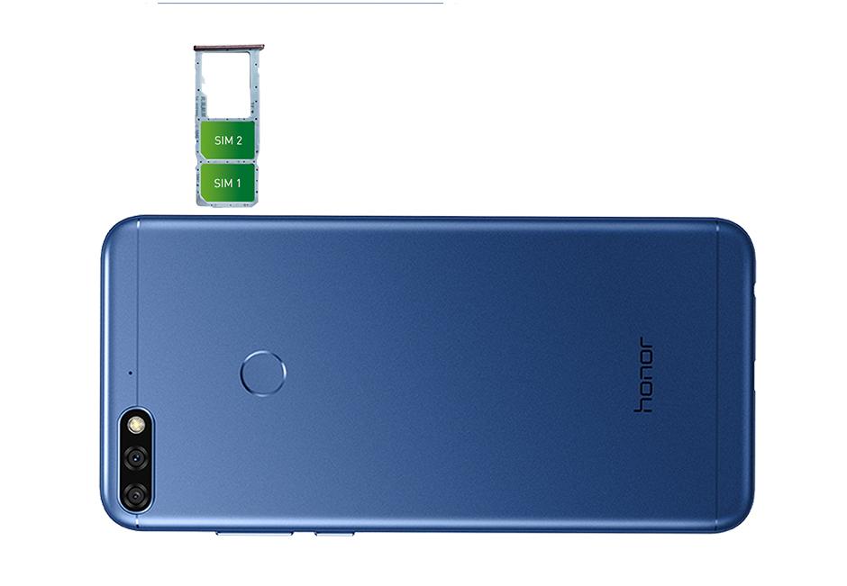 Huawei honor 7C - Parte trasera
