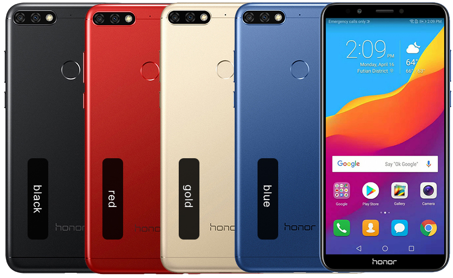 Huawei honor 7C - Colores