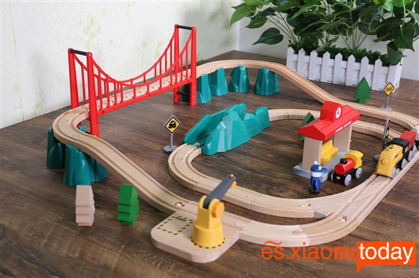 Xiaomi Mitu Track Building Block Análisis - Piezas y construcción