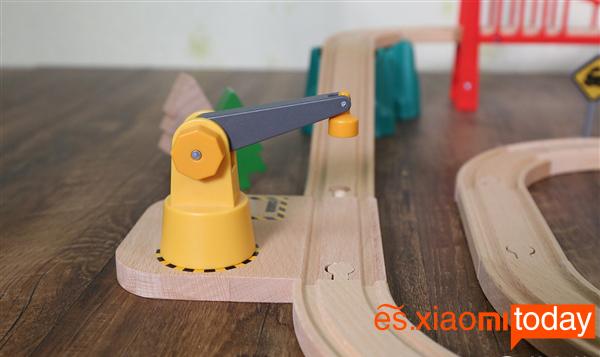 Xiaomi Mitu Track Building Block Análisis - Fuente de alimentación