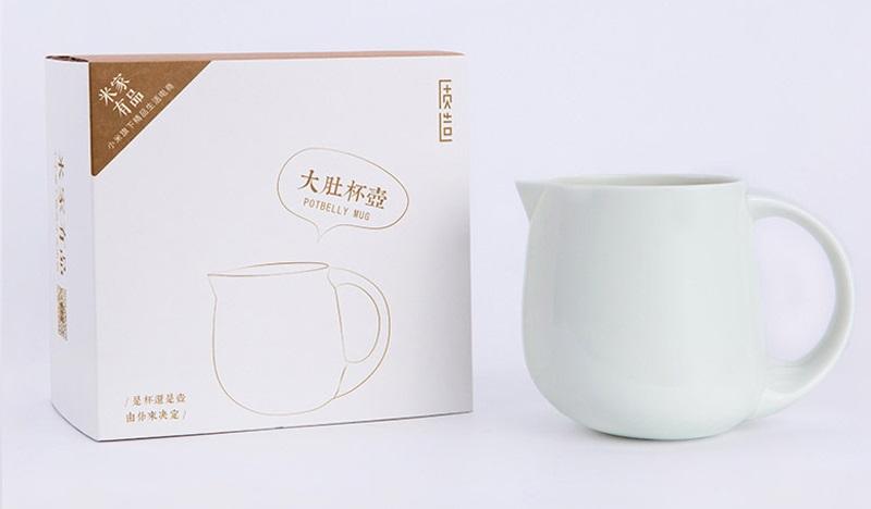 Xiaomi Belly Tea Porcelain Cup - vasija 2 en 1 con colador incluido