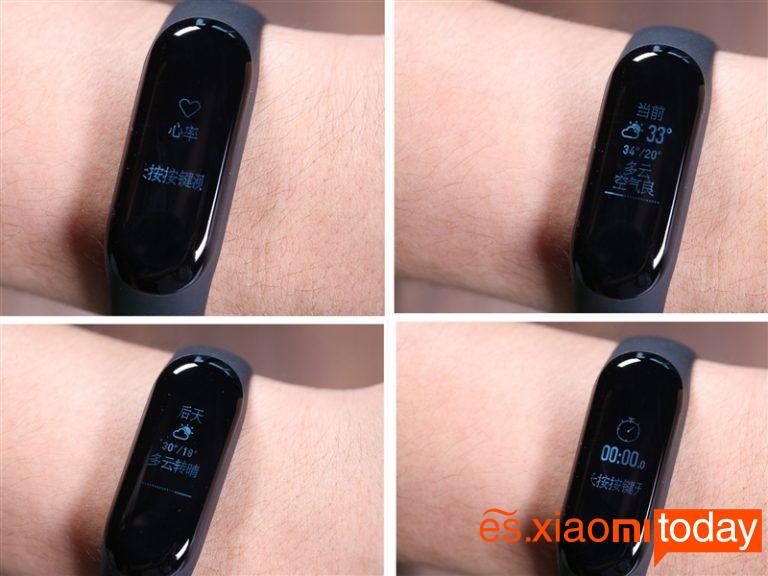 Xiaomi Mi Band 3 y teléfonos inteligentes