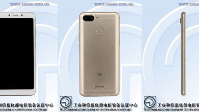 Redmi 6 a la vista - Tres nuevos teléfonos inteligentes Xiaomi aparecen en TENAA