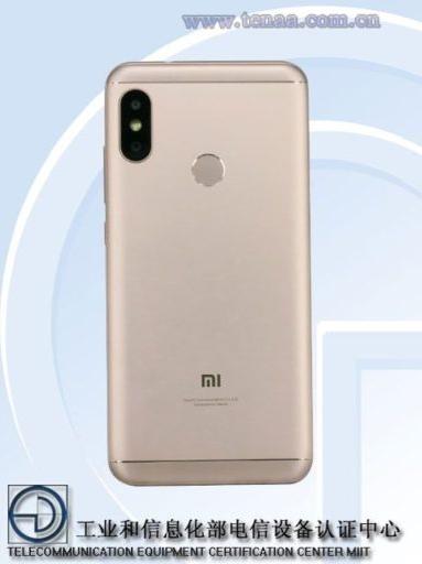 Xiaomi Redmi 6 diseño posterior
