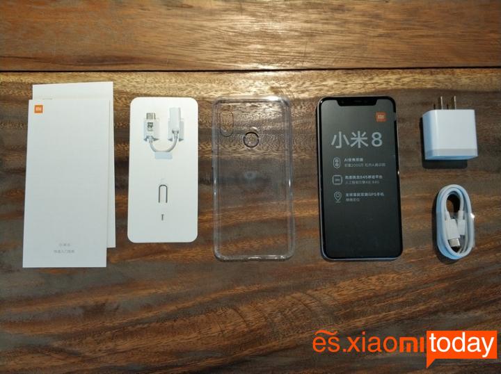 Xiaomi Mi 8 Análisis - Especificaciones