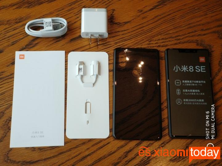 Xiaomi Mi 8 SE Análisis - Unboxing