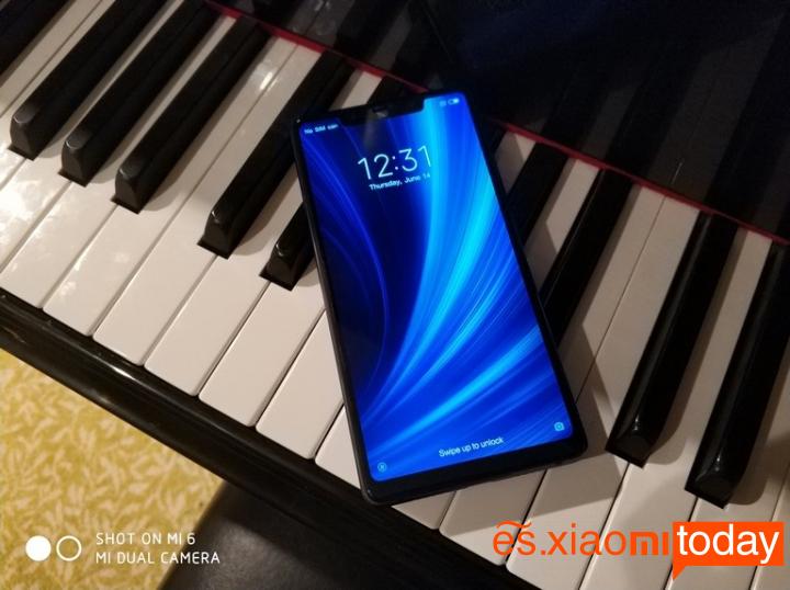 Xiaomi Mi 8 SE Análisis - Pantalla y audio