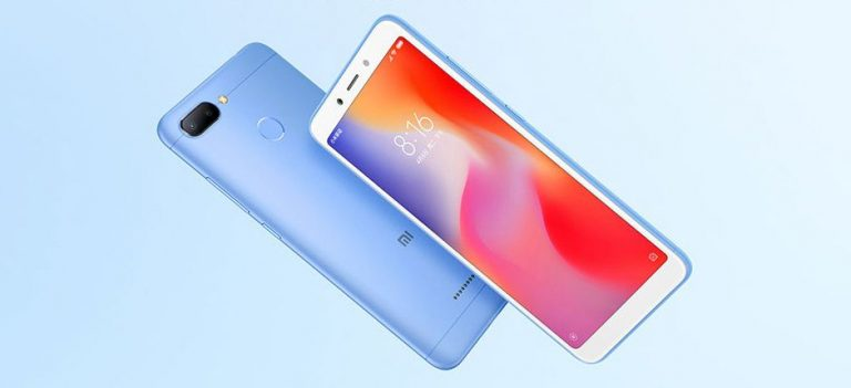 What can we see in the Xiaomi Redmi 6?