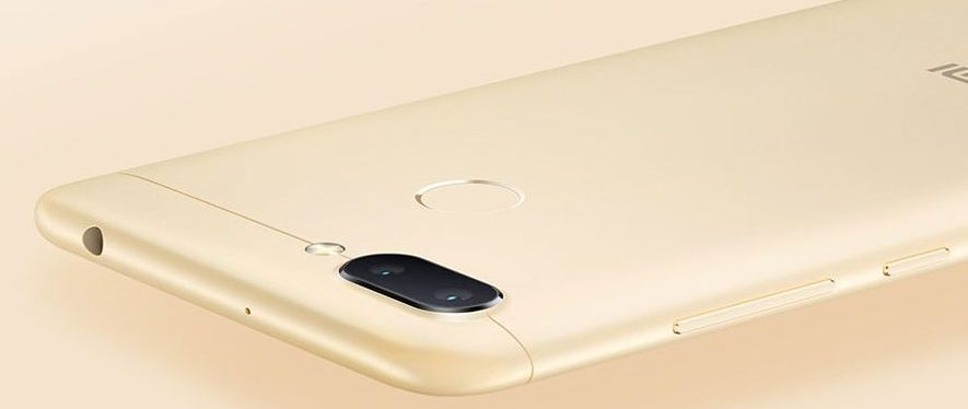 Xiaomi Redmi 6 Diseño