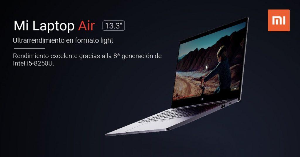 Xiaomi lanza oficialmente Mi Laptop Air para España