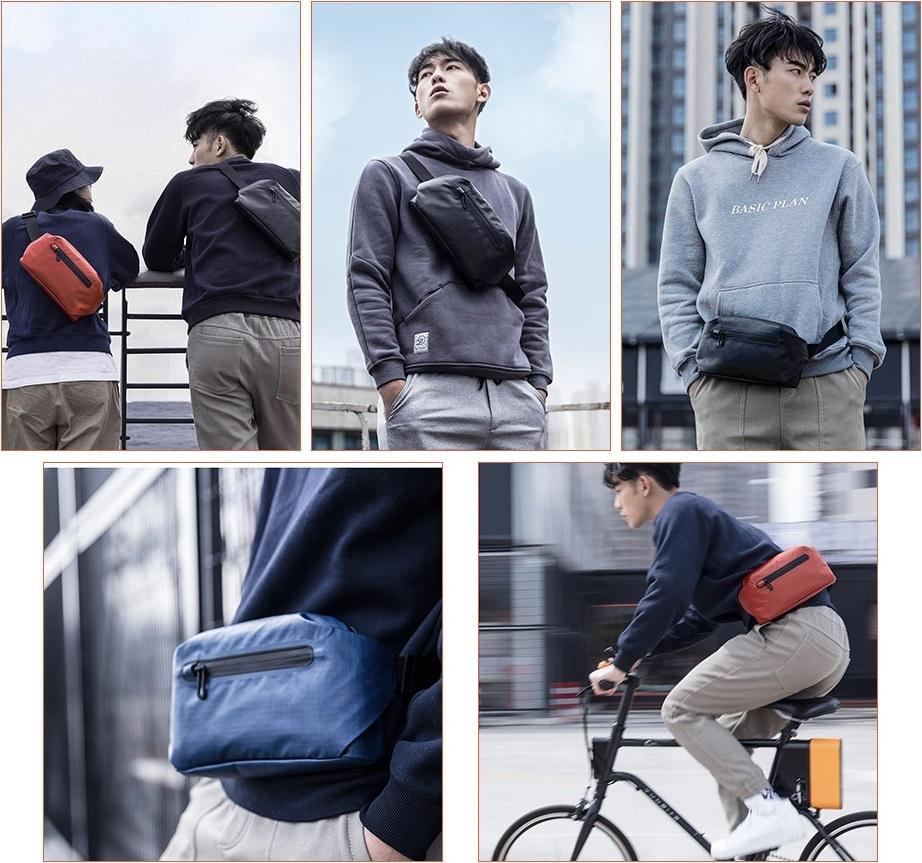 Compendio de verano - Xiaomi 90fen Tendry Water-resistant Waist Bag