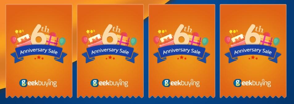 Giveaway Aniversario de Geekbuying