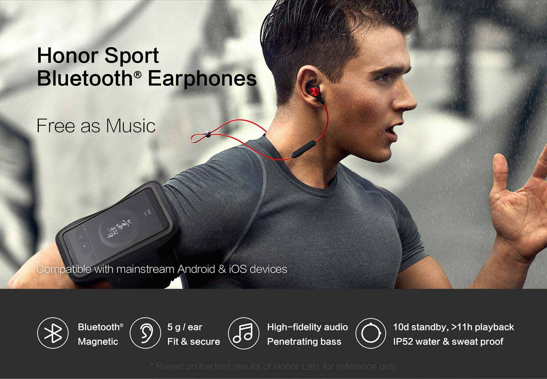 HUAWEI Honor AM61 Sports Earphones Bluetooth