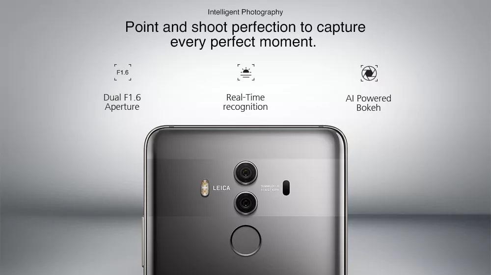 Huawei Mate 10 Pro cámara