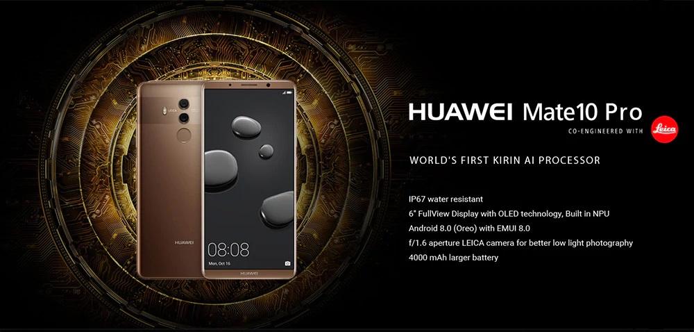 Huawei Mate 10 Pro introducción