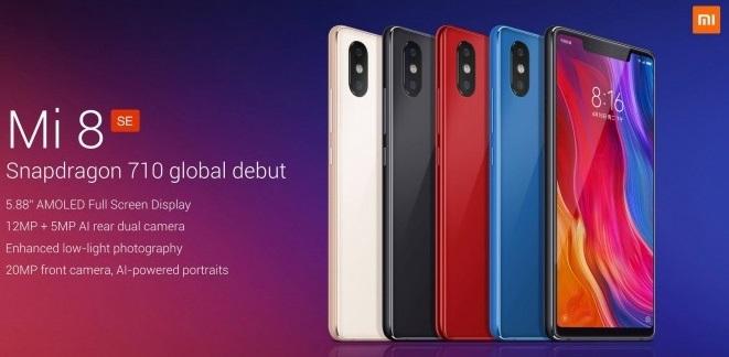 Xiaomi Mi 8 SE introducción