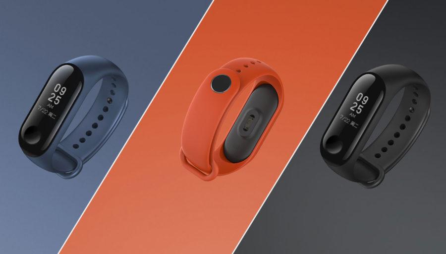 Xiaomi Mi Band 3 en sus 3 presentaciones
