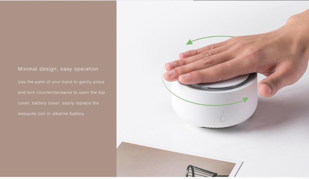 Modo de uso del Original Xiaomi Mijia Mosquito Repellent