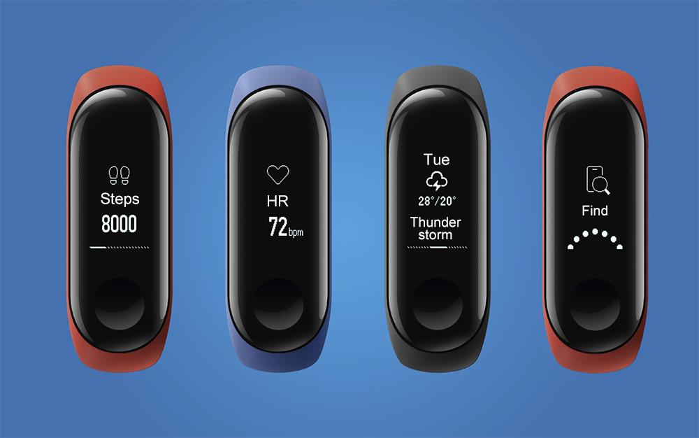 Increíble oferta por la nueva Xiaomi Mi Band 3 - Diseño y pantalla