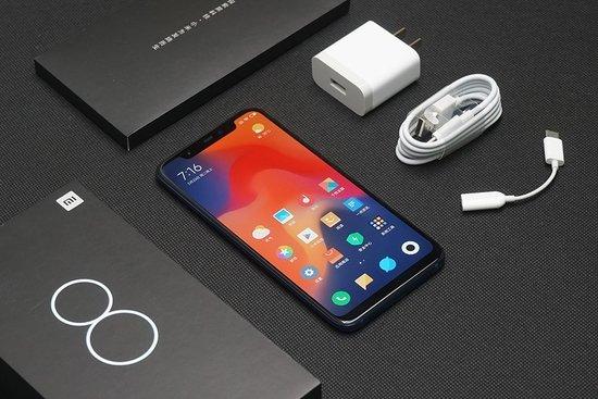 Primeras impresiones del Xiaomi Mi 8 versión azul - Paquete