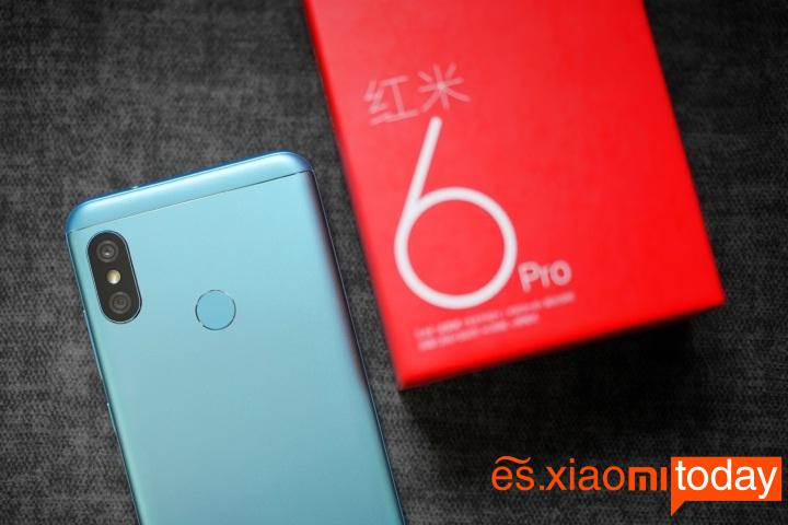 Xiaomi Redmi 6 Pro diseño