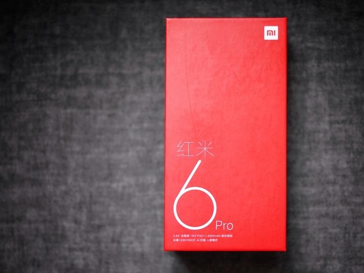 Xiaomi Redmi 6 pro Caja