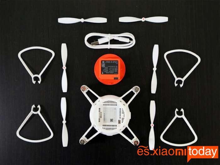 Xiaomi MITU Mini Drone Análisis - Especificaciones