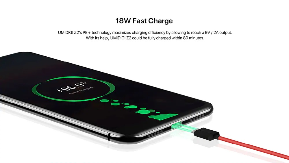UMIDIGI Z2 Batería
