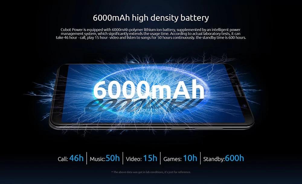 CUBOT POWER Batería