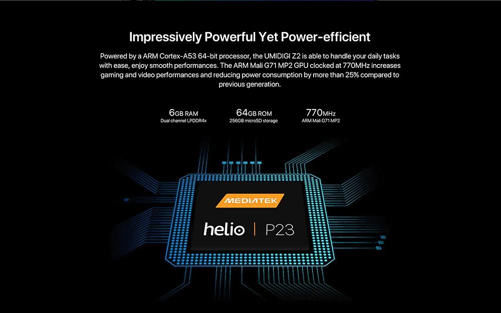 UMIDIGI Z2 Hardware