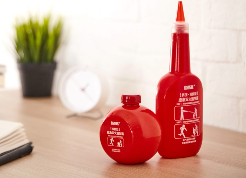 Botella Xiaomi para extinguir incendios por solo 13.31 €