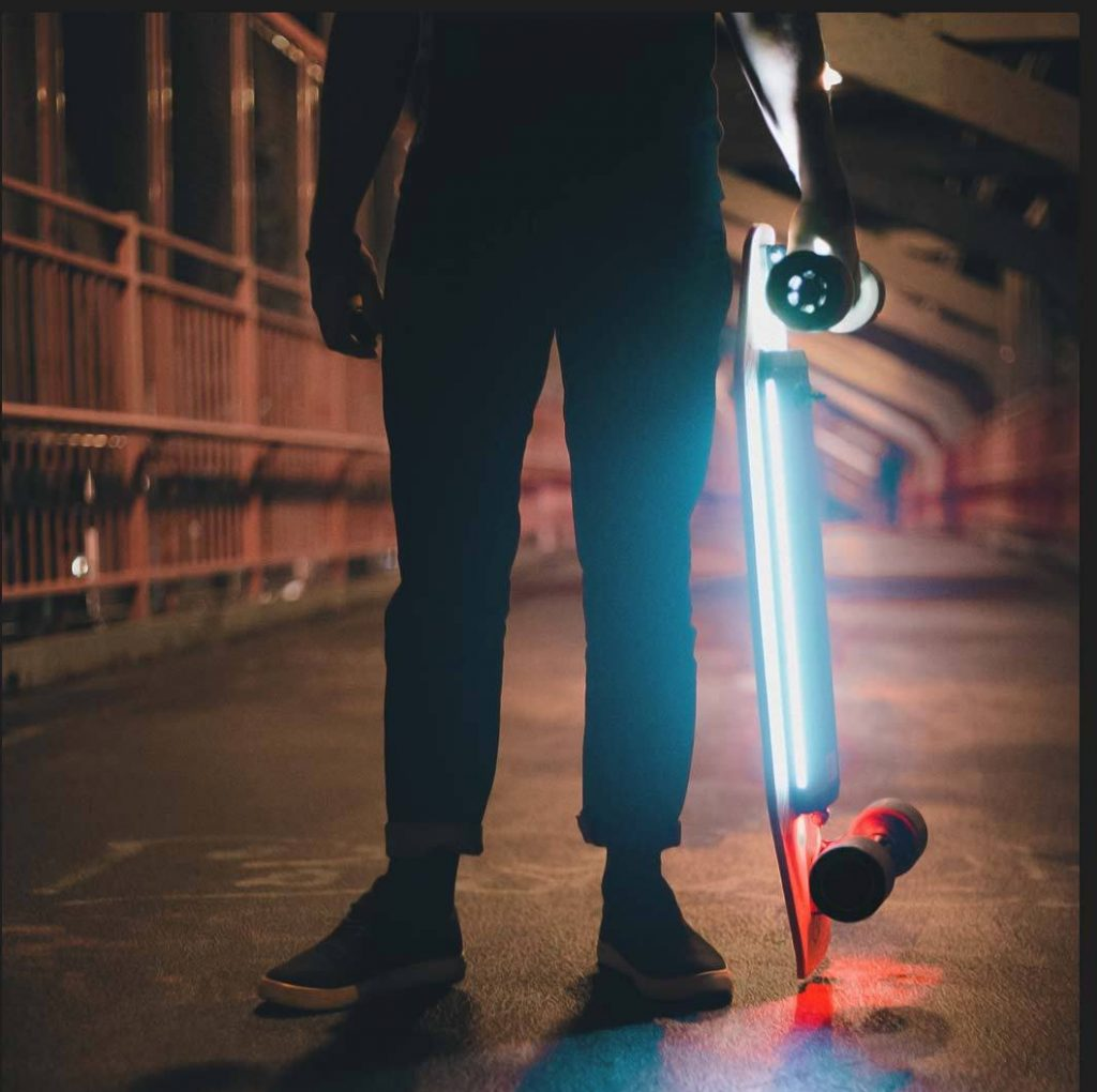 Características del ACTON Smart Electric Skateboard