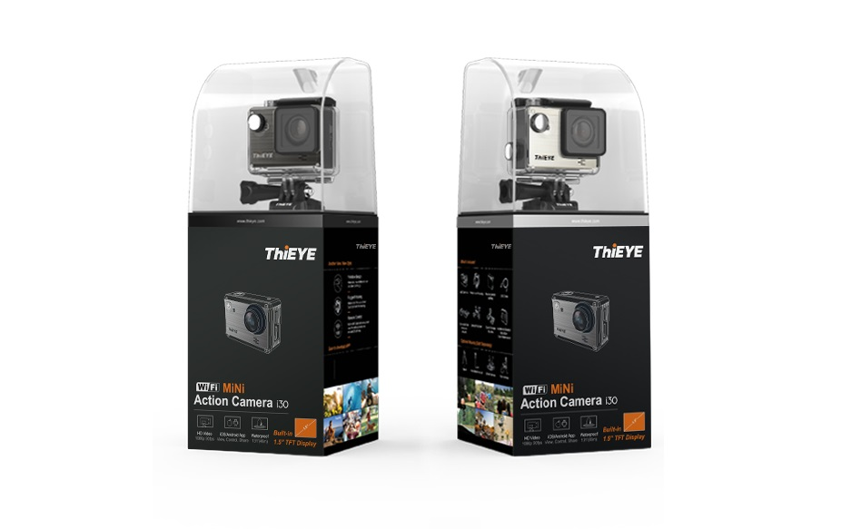 ThiEYE i30+ 4K Action Cam Empaque