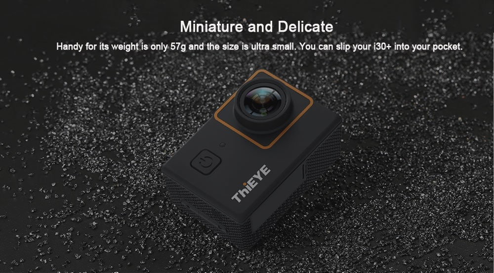 ThiEYE i30 + 4K Action Cam