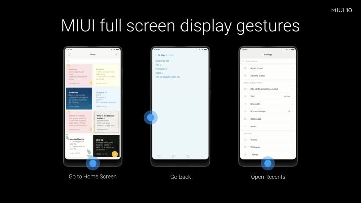 Características de MIUI 10: un diseño para mejorar el dispositivo