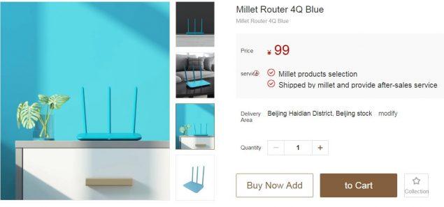 Xiaomi Mi Router 4Q precio