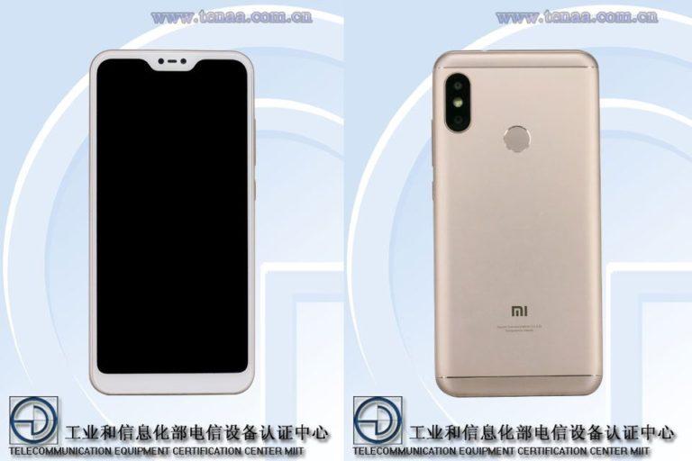¿Cómo podría verse el Xiaomi Redmi 6 Pro?
