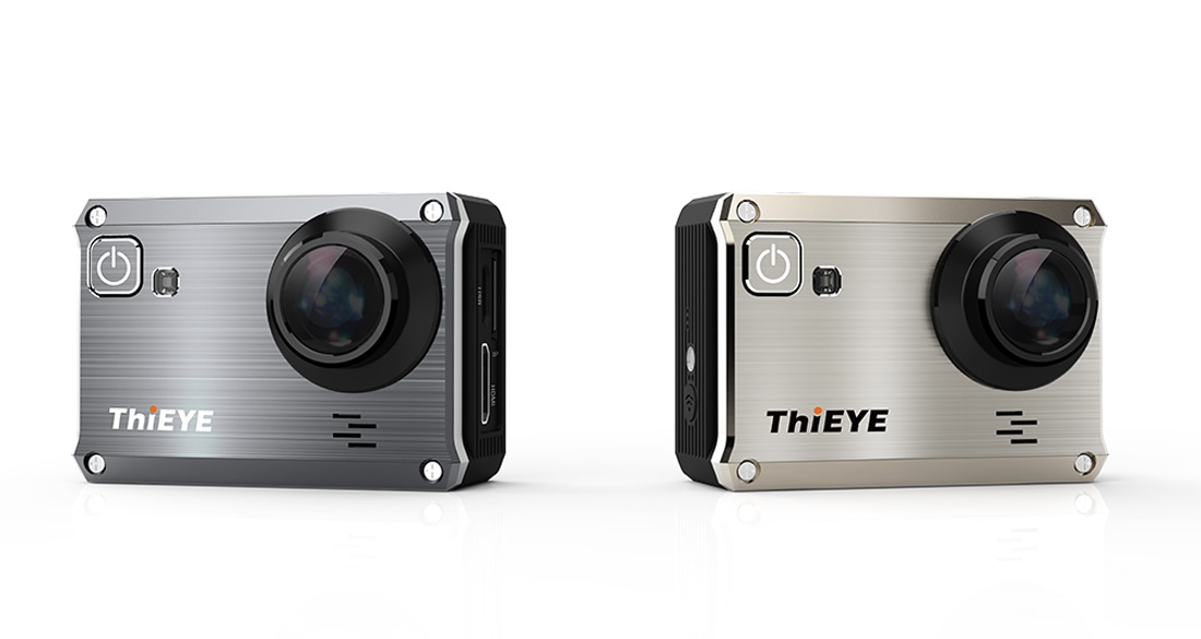 ThiEYE i30+ 4K Action Cam Diseño