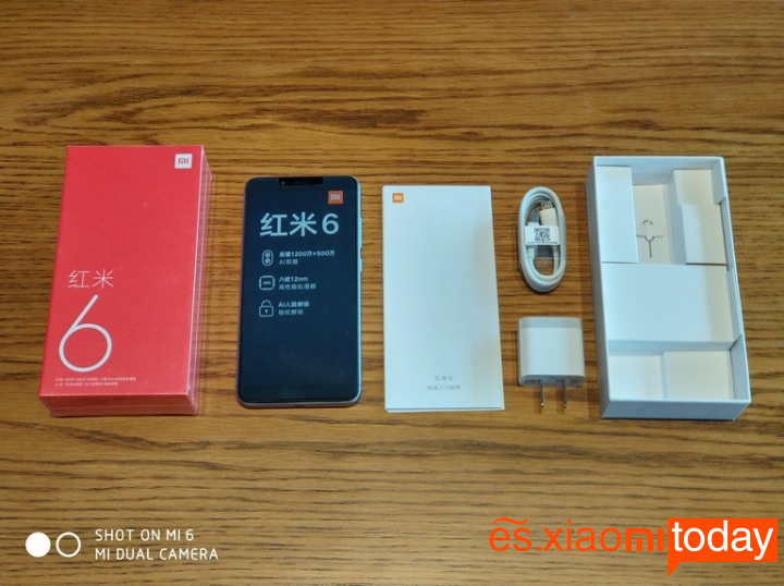 Xiaomi Redmi 6 Análisis - Primera impresión