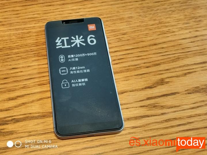 Xiaomi Redmi 6 Análisis - Diseño