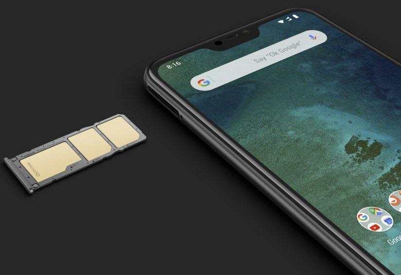 Xiaomi Mi A2 Lite: Diseño