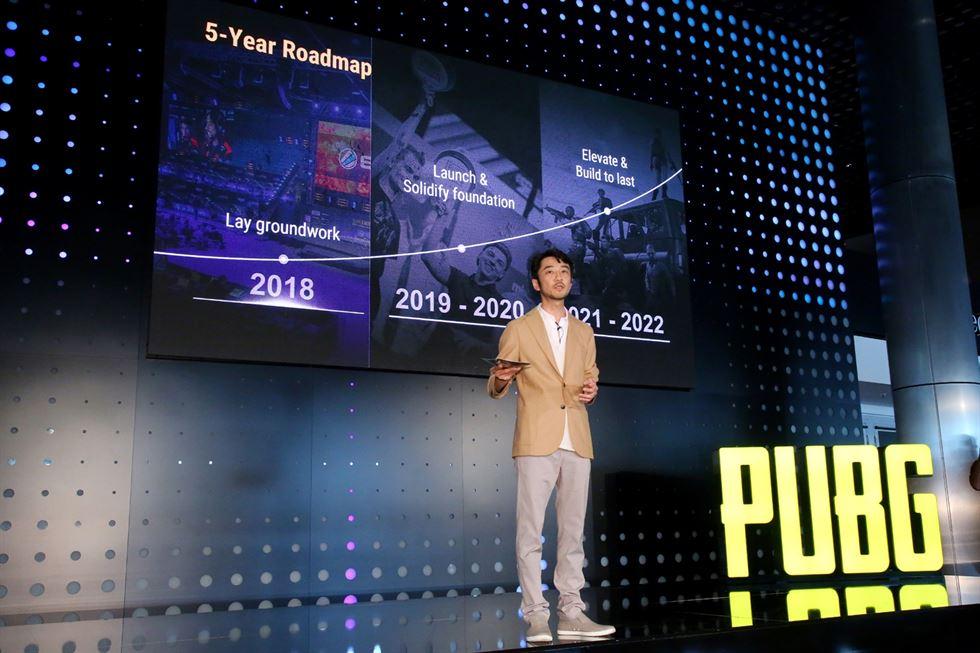 PUBG tiene un plan de 5 años para el incremento de su éxito