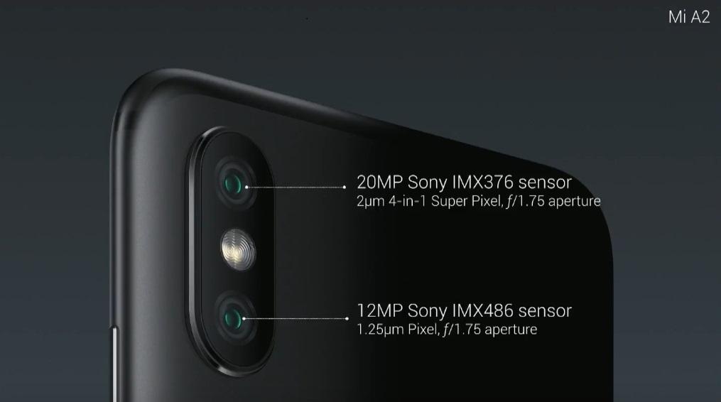Xiaomi Mi A2 - Cámaras