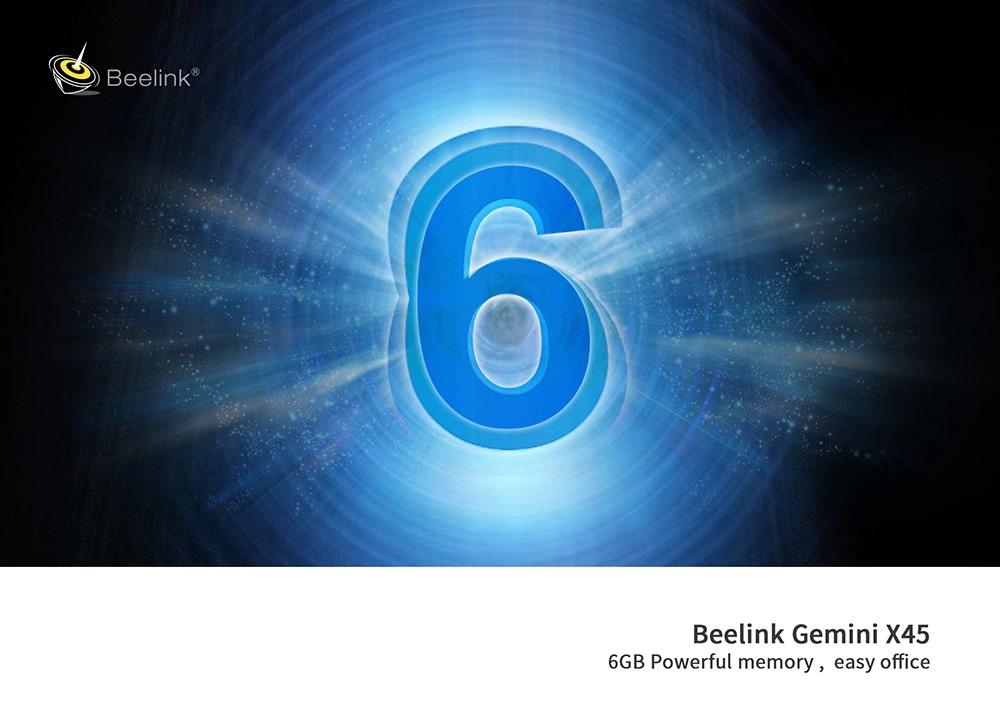 Beelink Gemini X45 resolución