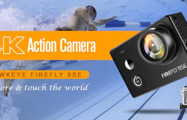 Hawkeye Firefly 8SE, una cámara de acción miniatura que graba a una resolución de 4K
