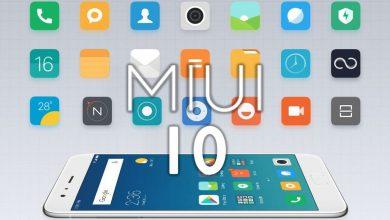 MIUI 10 Xiaomi actualización