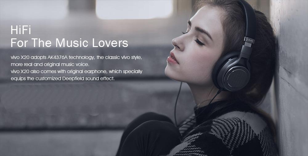 Vivo X20 Audio